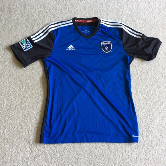 huge selection of 7fede f10ef Original San Jose Earthquakes Blue Jersey